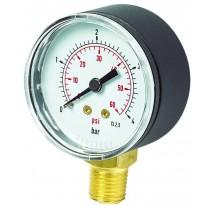 Pressure Gauge 40mm Bottom Connection