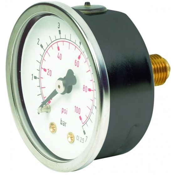 Panel Mount Pressure Gauge 40mm
