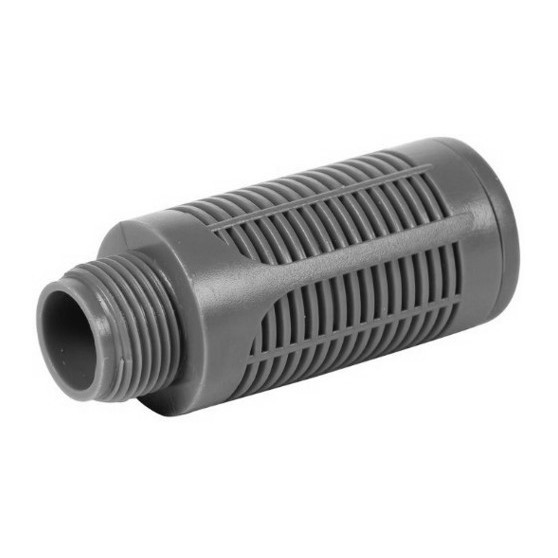 Ultra Quiet High Flow Silencer