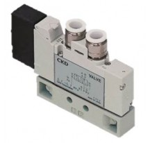 Body Ported Solenoid Valve - 6mm Push-in Fitting